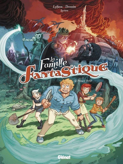 La famille Fantastique couverture