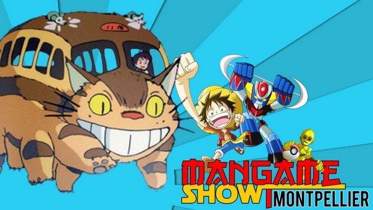 Mangame show 2016 Montpellier : le salon de la culture geek le 30 avril et 1er mai