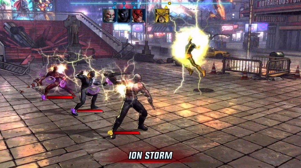 Marvel Avengers Alliance 2 gameplay