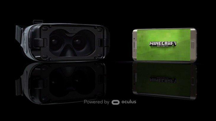 Minecraft disponible en réalité virtuelle avec le Gear VR