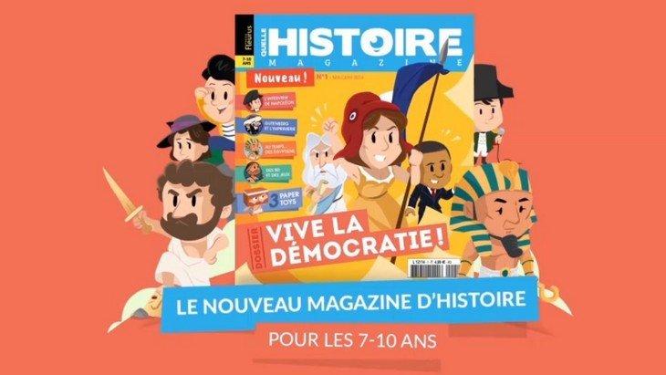 Quelle Histoire Magazine : un nouveau magazine papier et numérique sur l'Histoire