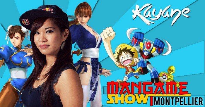 kayane au mangame Show Montpellier