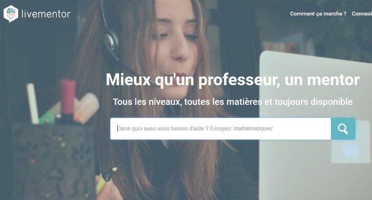LiveMentor : une solution de soutien scolaire en ligne !