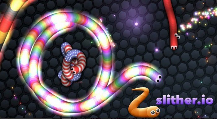 slither.io encerclement