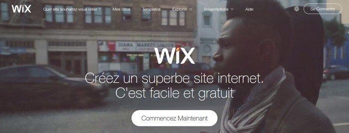 wix création blogs