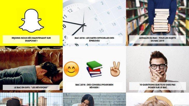 Réviser le Bac avec Snapchat et des GIF ? L'Éducation nationale tente le coup