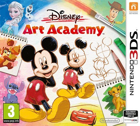 Disney Art Academy cover