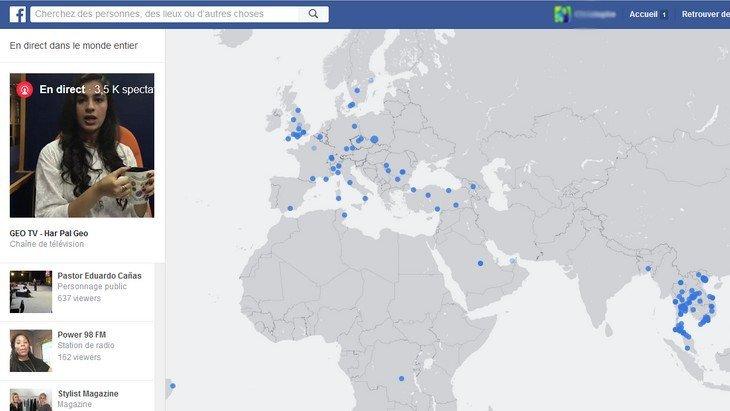 Facebook Live : toutes les vidéos en direct depuis ton navigateur