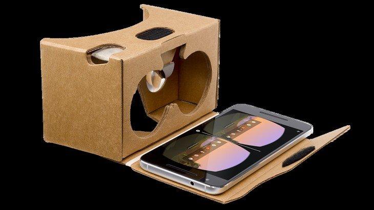 Google Cardboard, le casque de réalité virtuelle dispo en France