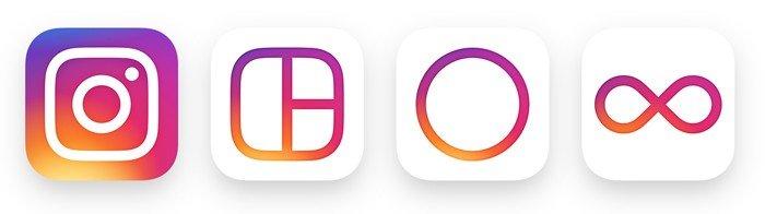 Instagram nouveaux logos