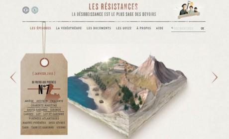 «Les Résistances» : un webdoc sur la Résistance et ses héros