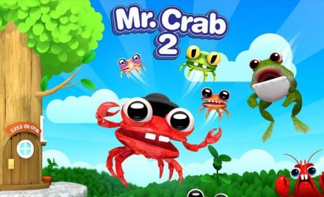 Mr. Crab 2 : le retour du crabe bondissant sur ton iPhone et iPad