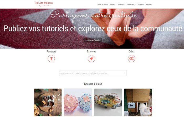 Oui Are Makers Home Page