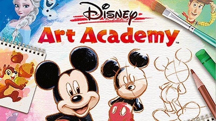Disney Art Academy (Nintendo 3DS) : apprends à dessiner les personnages de Disney