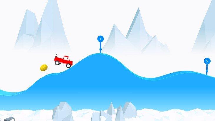 Risky Road : apprends à conduire une jeep sur ton mobile