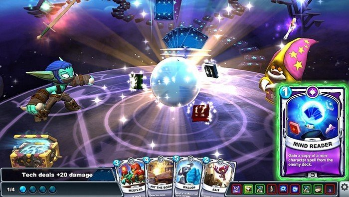 Skylanders Battlecast intro