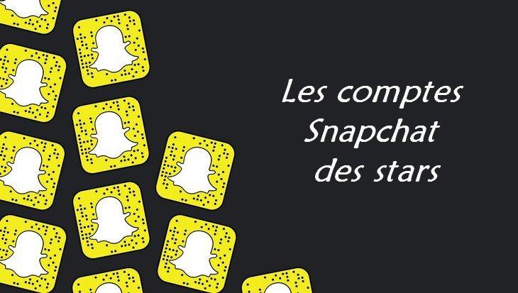 SnapStars : trouve tes stars préférées sur Snapchat