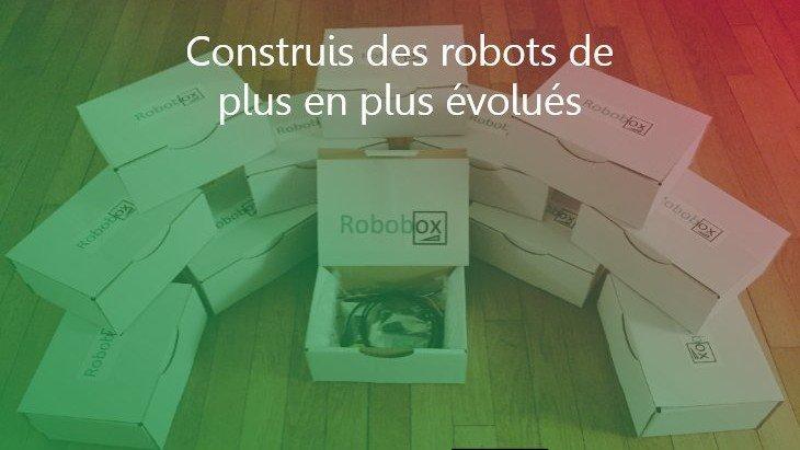 Construis chaque mois un robot avec Robobox !
