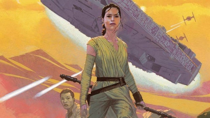 Star Wars 7 : les premières images du comics dévoilées !