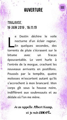 Chronique(s) d'Abîme page 1