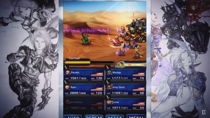 Final Fantasy Brave Exvius gratuit sur ton smartphone