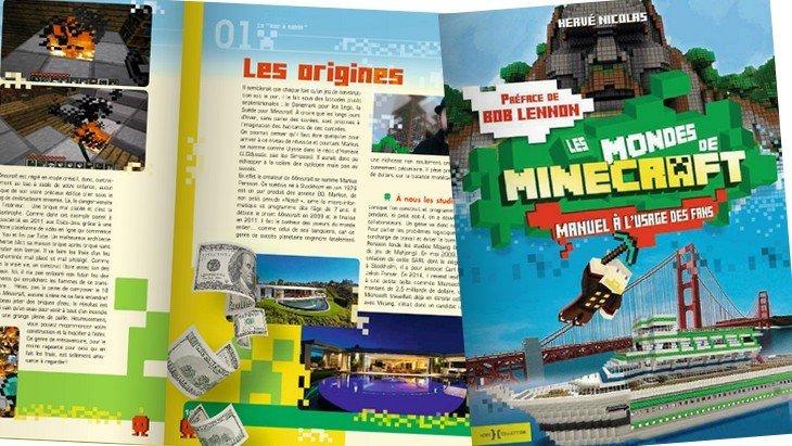 """Sortie du livre """"Les mondes de Minecraft – Manuel à l'usage des fans"""""""