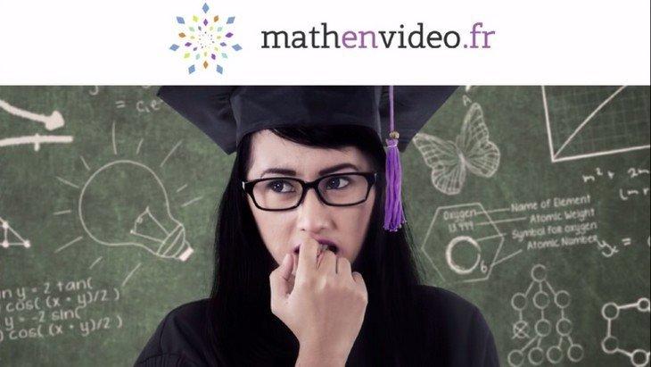 Mathenvidéo.fr : des vidéos et des fiches pour améliorer ton niveau en maths