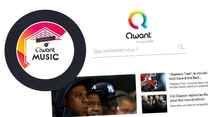 Qwant Music : la musique a son moteur de recherche !