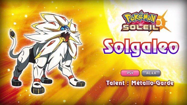 Pokémon Soleil & Lune sur 3DS : nouveau trailer et nouvelles infos
