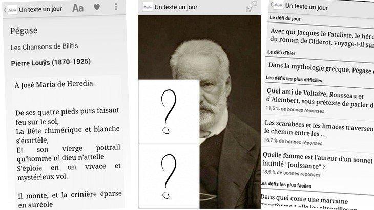 Un Texte Un Jour : l'application idéale pour (re)découvrir les classiques de la littérature