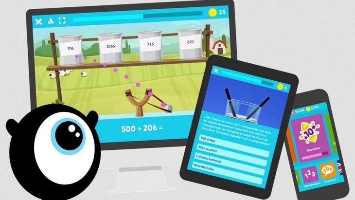 Cahiers de vacances numériques : la liste des applications (Android/iOS)