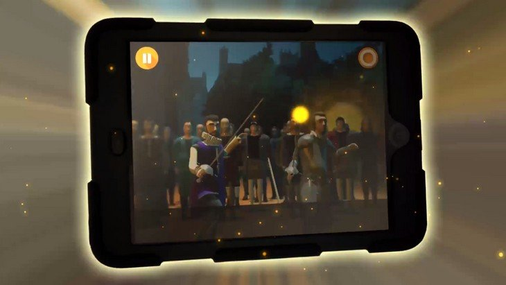 Au service du Roy : une application iPad pour suivre François Ier au Château d'Amboise