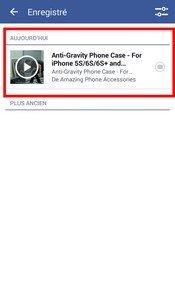 Facebook vidéos hors connexion 4