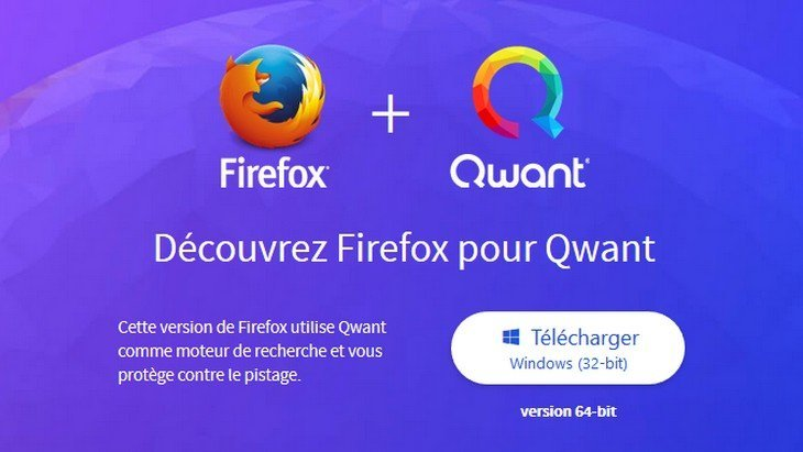 Firefox for Qwant : une version de Firefox pour surfer tranquille !