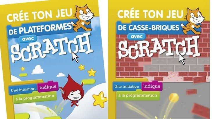 Comment créer ton jeu vidéo avec Scratch ? Deux livres t'expliquent tout