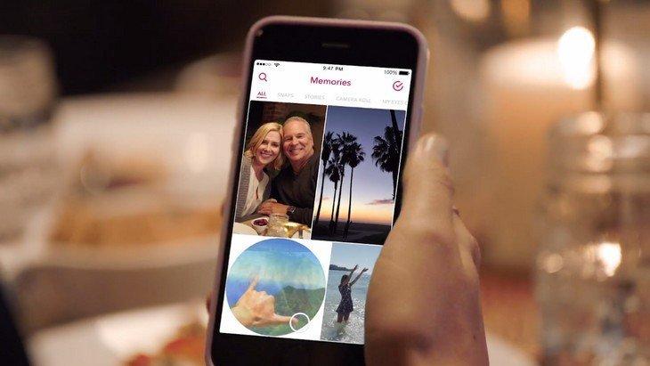 Snapchat lance Memories pour sauvegarder les snaps et les stories