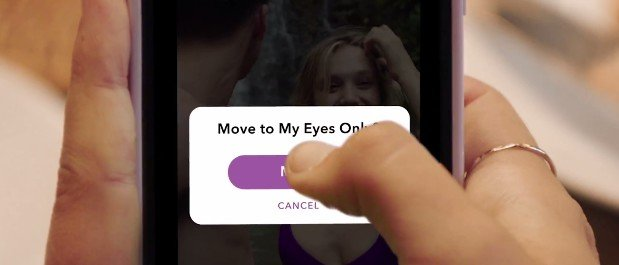 Move to Eye only - Snapchat