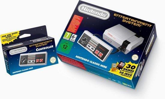 Nintendo Classic Mini NES boîte