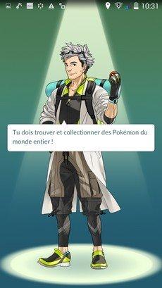 Pokemon Go début