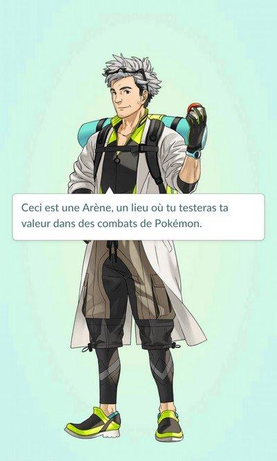 Pokemon Go arène
