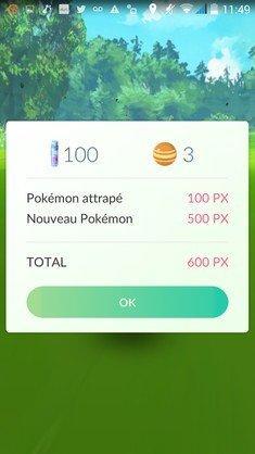Pokemon Go gains