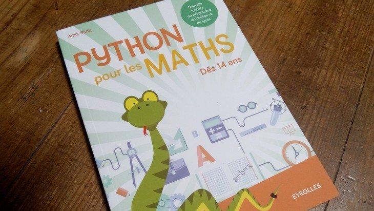 «Python pour les maths» : un livre pour apprendre à coder et progresser en maths
