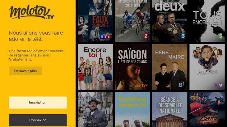 Molotov : l'application pour regarder la télé autrement aussi sur Android