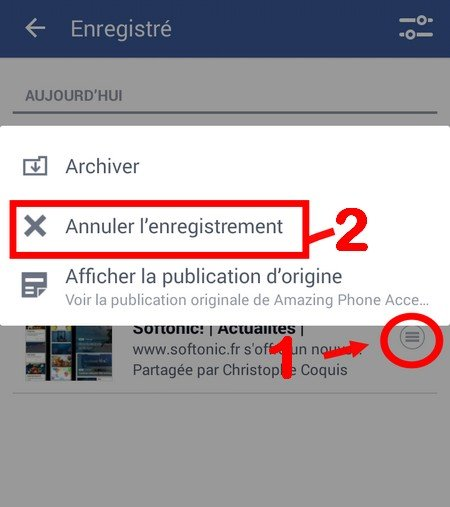 supprimer une vidéo - Facebook