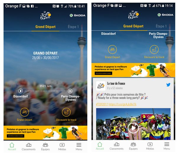 tdf app officielle