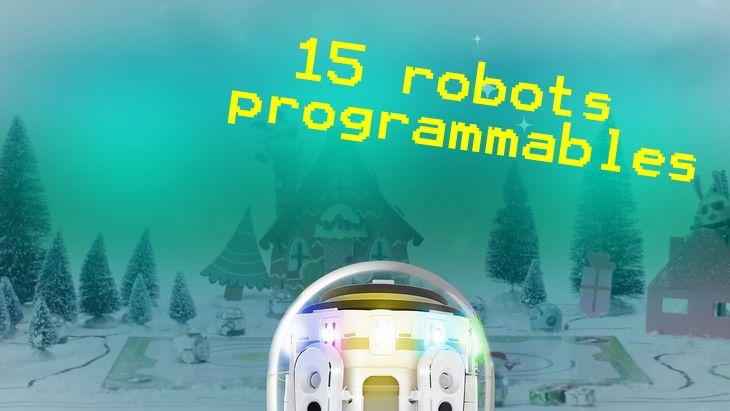 15 mini-robots pour apprendre à programmer pour Noël
