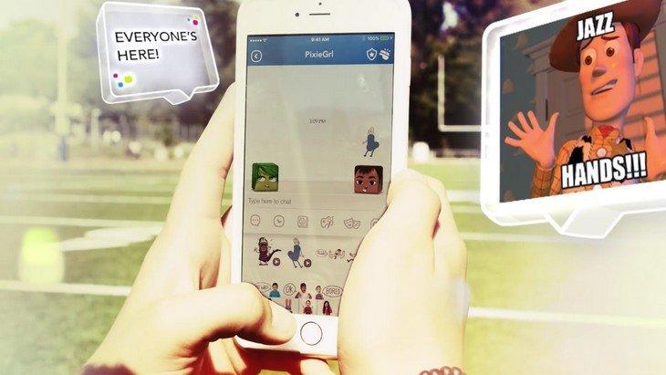 Disney Mix, une messagerie instantanée pour les enfants et les ados