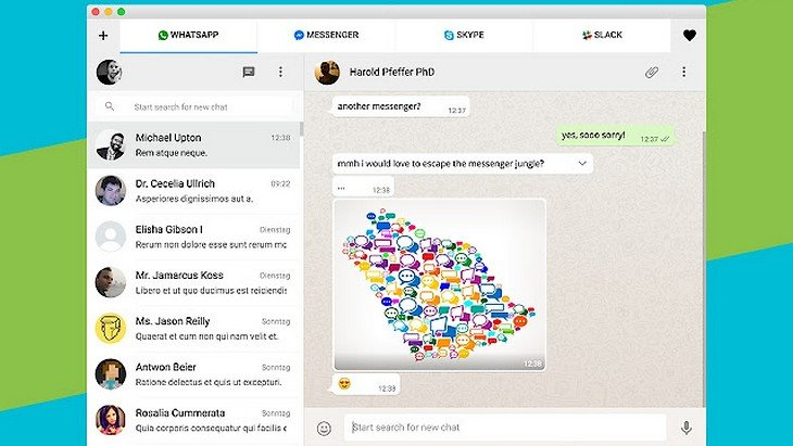All-in-One Messenger : l'appli qui réunit WhatsApp, Skype, Messenger…