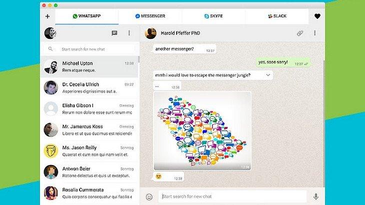 All-in-One Messenger : l'appli qui réunit WhatsApp, Skype, Messenger…
