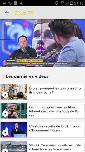 franceinfo direct tv